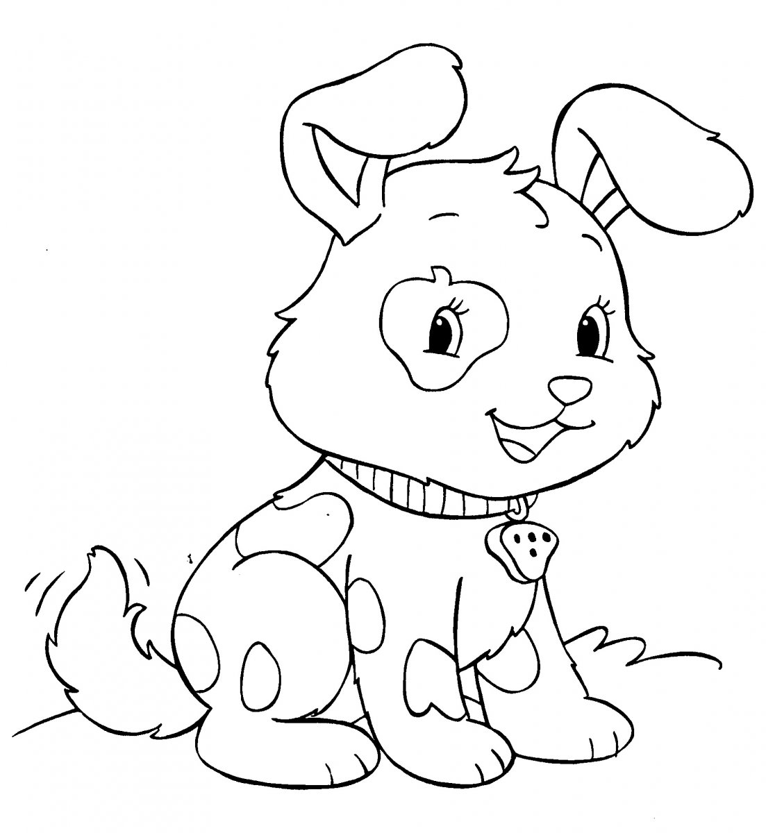 Puppies Coloring Pages