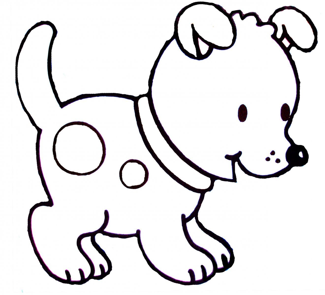 Dibujos De Perros Para Pintar Dibujos De Perros Para Colorear