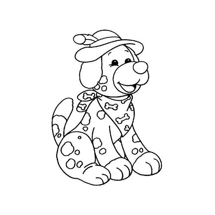 Dibujos de perros para colorear. Dibujos de razas de perros para pintar