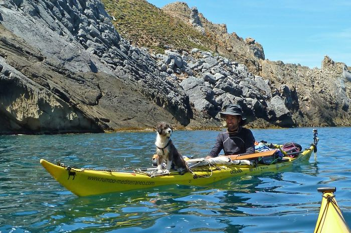 Como hacer 5.000 km de kayak con tu perro (1)